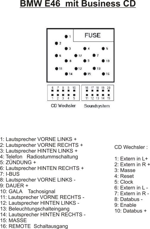 BMW-Treff Forum - 5er E39 Alpine MP3 Wechsler S634 via Soundgate ...
