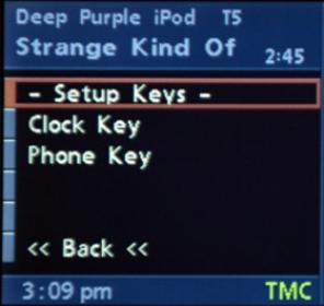 Setup Keys
