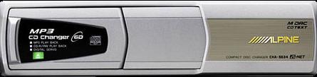ALPINE CHA-S634 - CD/MP3-Wechsler