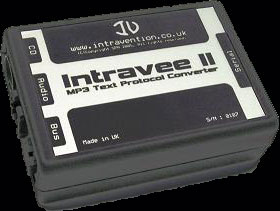 Intravee II - MP3 Text Protocol Converter