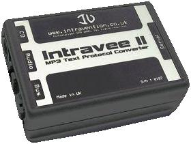 Intravee II - MP3 Text Protocol Converter