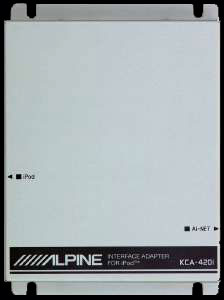 ALPINE KCA-420i - iPod Interface